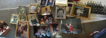 I went through boxes and boxes pictures... I just could not let them go.