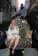 The famous Venice Gondolas.