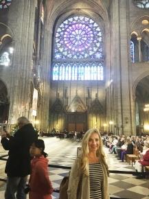 Rose windows at Notre Dame.